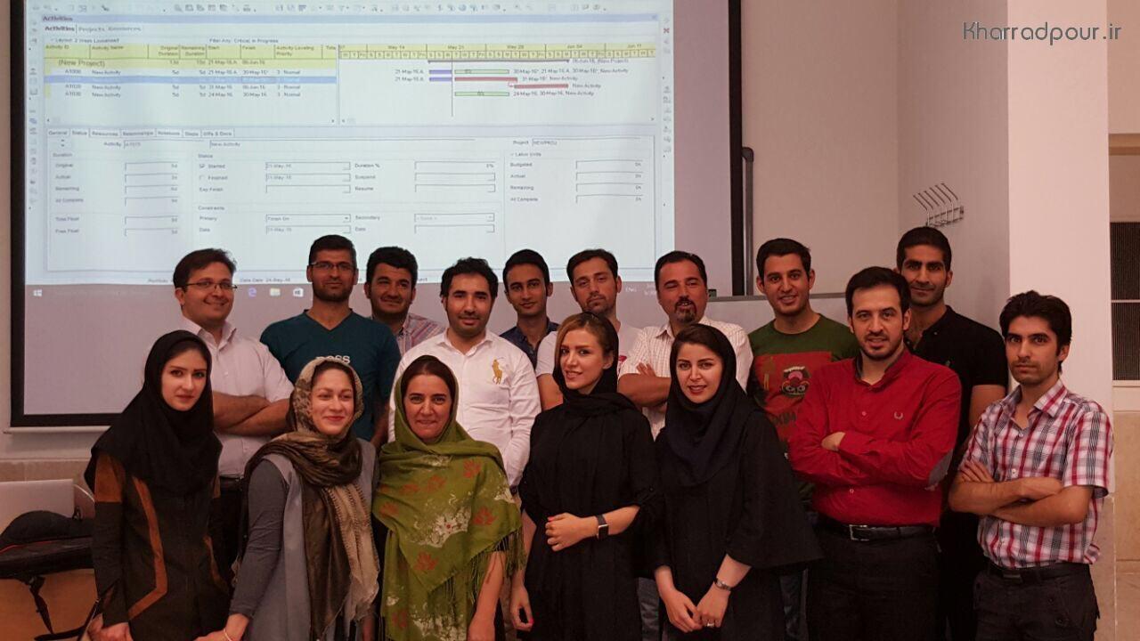 اتمام دوره دانشگاه تهران(MSP-P6)