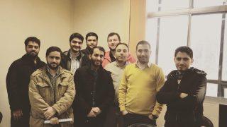 پایان دوره MSP /مجتمع فنی تهران/ونک/ ١٢ بهمن ١٣٩۶