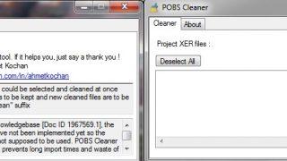 دانلود نرم افزار POBS Cleaner