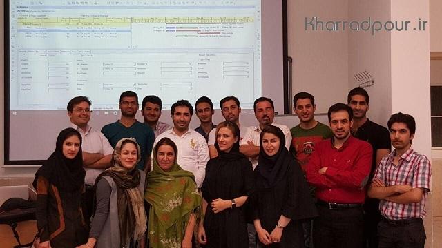 اتمام دوره MSP & Primavera در دانشگاه تهران
