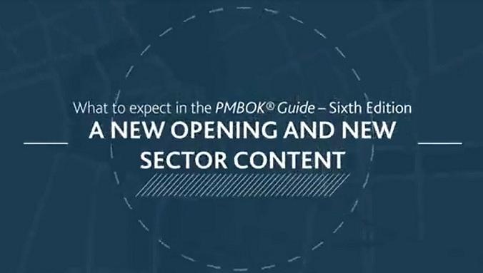 تغییرات ویرایش ششم استاندارد پمباک منتشر شده از موسسه  PMI (ویدئو)