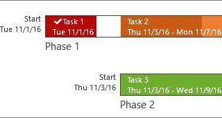 قابلیت Timeline Lable در نرم افزار MSP 2019
