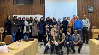 پایان دوره MSP دانشگاه الزهرا
