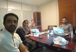 پایان دوره MSP شرکت کابل مغان – شهریور 99